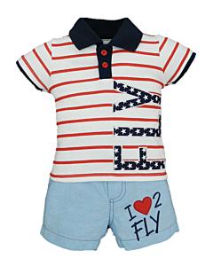 Wonder Child Collection: Flight Club - I Love 2 Fly (3 - 6 Mths) - 10% OFF!