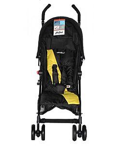 Halford: Fliplite Stroller - Black/Yellow - 25% OFF!!