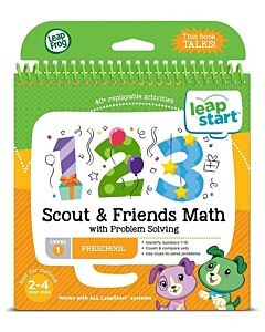 LeapFrog: LeapStart™ Preschool Activity Book: Scout & Friends Math and Problem Solving (aged 2-4 yrs) - 16% OFF!!