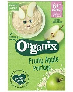 Organix Fruity Apple Porridge 120g (6+ Months)