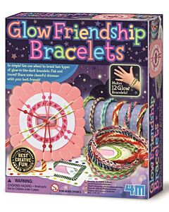 4M Paint Your Own | Glow Friendship Bracelets - 15% OFF!!