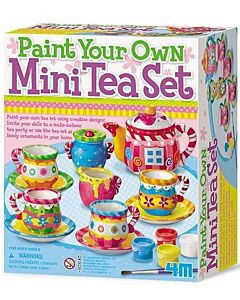 4M Paint Your Own | Mini Tea Set - 15% OFF!!