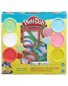 Play-Doh: Fundamentals Shapes Tool Set (3 Years+) - 5% OFF!!