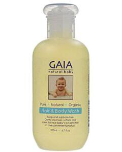 GAIA Hair & Body Wash 200ml - 43% OFF!!