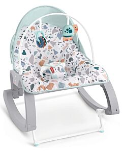 Fisher-Price: Deluxe Infant-to-Toddler Rocker (Pacific Pebble) (NEW Design)