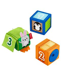 Fisher-Price: Stack & Discover Sensory Blocks - 10% OFF!!