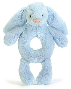 Jellycat: Bashful Blue Bunny Grabber (18cm)