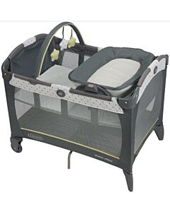 Graco Playard Reversible Napper & Changer LX - Sprinkle [+ FREE Quilted Fitted Sheet] - 23% OFF!!