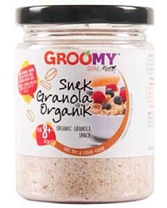 Groomy Organic Granola Snack 150g (For 8+ Months) - 5% OFF!!