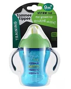 Tommee Tippee: Easy Drink Straw Cup 230ml (9M+) - Green - 27% OFF!!
