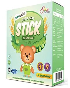 Natufoodies: Green Peas Stick 50g (10g x 5 packets) - 19% OFF!!