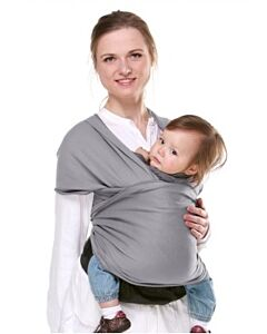 PITTARi: Baby Wrap - Grey - 15% OFF!!