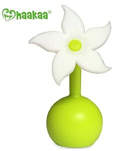 Haakaa: Breast Pump Silicone Flower Stopper - White - 27% OFF!!
