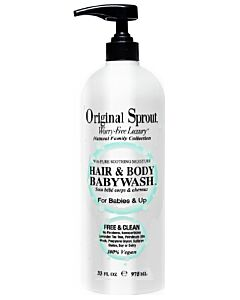 Original Sprout: Hair & Body Babywash - 32oz/946ml - 10% OFF!!