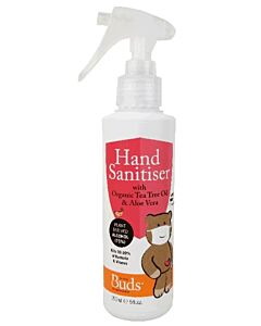 Buds Household Eco: Hand Sanitiser (with Organic Tea Tree Oil & Aloe Vera) 150ml - 15% OFF!!