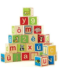 Hape Toys:  ABC Blocks - 12% OFF!!