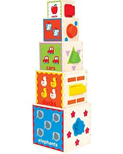 Hape Toys: Pyramid of Play - 10% OFF!!