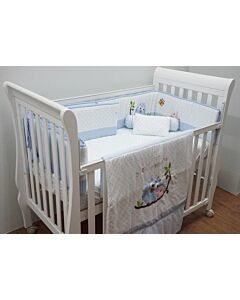 Happy Cot: Bedding Set - Happy Moments (Blue)  - 10% OFF!!