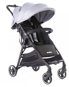Baby Monsters | Kuki Stroller (Birth to 22kg) - Heather Grey - 36% OFF!!