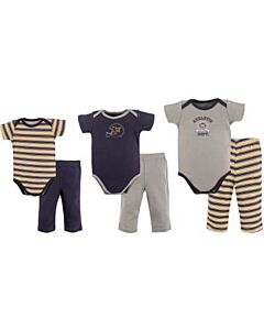 Hudson Baby: 6 Piece Grow With Me Set (Grow from 0-9 months) (58123) - 20% OFF!!