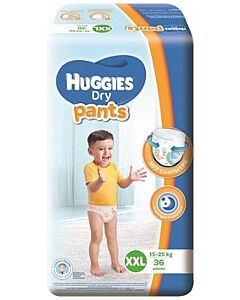 Huggies Dry Pants Diaper XXL36 (15-25kg) - 26% OFF!!