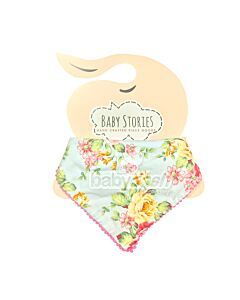 Baby Stories: Baby Bandana Floral Abstract - 10% OFF!
