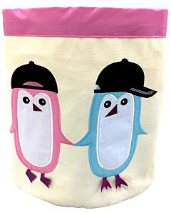 Bebe Living: Storage Bin - Penguins (Big)