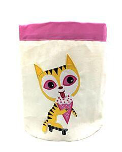 Bebe Living: Storage Bin - Cat (Small)