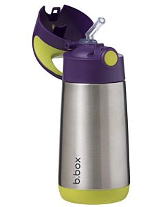 B.Box: Insulated Drink Bottle 350ml/12oz | Passion Splash (12+Months) - 15% OFF!!