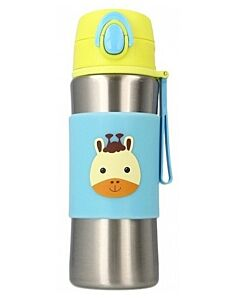 Snapkis: Insulated Spout Bottle 340ml | Giraffe - 30% OFF!!