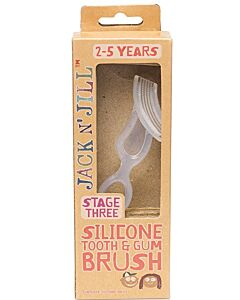 Jack N' Jill Silicone Tooth & Gum Brush Stage 3, 2-5 years - 20% OFF!!