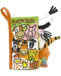 Jellycat: Farm Tails Book (11 x 21cm)