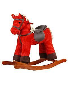 Marvellous Fun: Red Wide Stripe Rocking Horse - 26% OFF! (Special launch price)