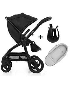 Egg® Stroller: Jurassic Black On Black Chassis - 11% OFF!!