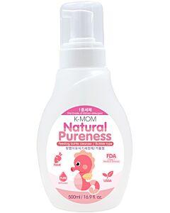 K-Mom - Natural Pureness Baby Bottle Cleanser Bubble Type (Foam Pump Bottle) (500ml) - 30% OFF!