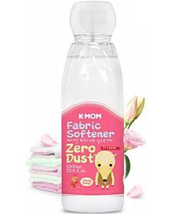 K-MOM Zero-Dust Fabric Softener (White Floral) 1000ml - 10% OFF!!