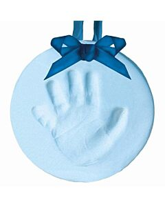Pearhead: Babyprints Hanging Keepsake (Round) - Blue - 15% OFF!