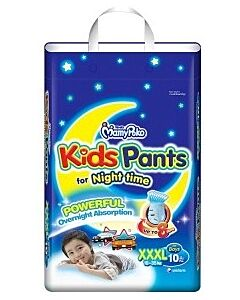 MamyPoko Kids Pants For Night Time Boy XXXL10 (18-35kg)