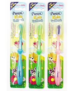 Pureen: Kids Toothbrush *Assorted Colour* - 2 to 6 Years Old ( 2-6Yrs ) (Buy 2 Get 1 FREE!)