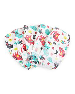 Offspring Fashion Diapers (Chlorine Free) S48 (3-7kg) - Kitties