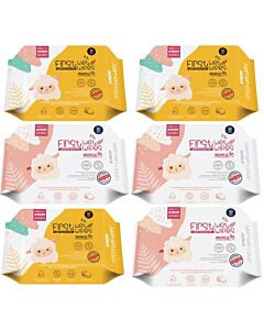 K-Mom: First Wet Wipes Promise Baby Wipes 30pcs - [6 PACKS] - 42% OFF!!