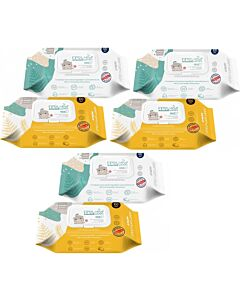 K-Mom : First Wet Wipes VALUE Baby Wipes 100pcs [6 PACKS] - 44% OFF!!