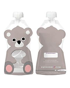 Squooshi: Large Food Storage Pouch (Koala) 130ml - 20% OFF!!