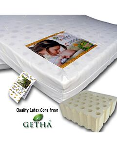 "Bumble Bee: Baby Latex Mattress (28"" x 52"" x 3"") - 31% OFF!!"