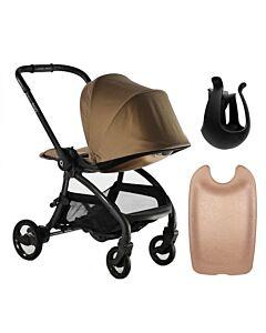 Egg® Quail Stroller: Latte On Chasis (FREE Backpanel + Cup holder) - 17% OFF!!