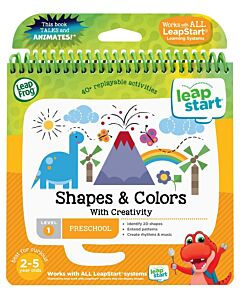 LeapFrog: LeapStart™ Preschool Activity Book: Shapes and Colors and Creativity (aged 2-5 yrs) - 16% OFF!!