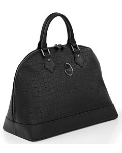 Egg® Leather Changing Bag - Jurassic Black - 16% OFF!!
