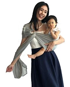 SUKKIRi: Mesh Ring Sling - Light Grey - 22% OFF!!