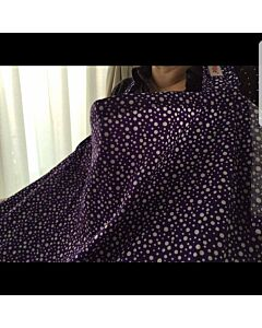 Lilie Pilie: Nursing Covers (Violet Bubbly)