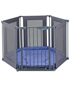 Lindam: Fabric Safe & Secure Playpen